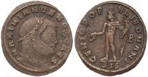 Ancient Coins - Roman coin of Galerius - GENIO POPVLI ROMANI - Siscia