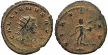 Ancient Coins - Roman coin of Gallienus Antoninianus - VIRTVS AVG
