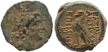 Ancient Coins - Seleukid coin of the King Antiochus VIII Epiphanes Grypus - Superb reverse