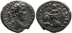 Ancient Coins - Septimius Severus AR denarius - VICTORIAE AVGG FEL