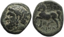 Ancient Coins - Thessaly, Gyrton Circa 350-300 BC