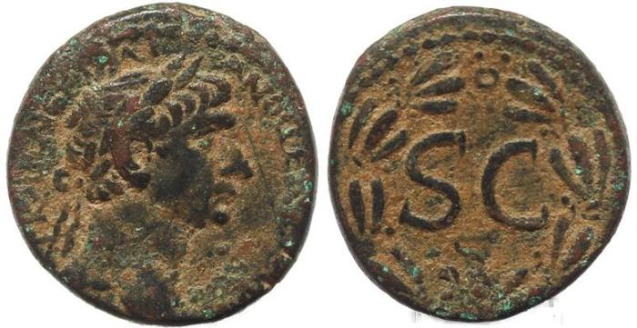 Ancient Coins - Roman Provincial coin of Trajan - Antioch, Syria