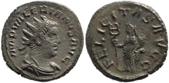 Ancient Coins - Valerian I silver antoninianus - FELICITAS AVGG