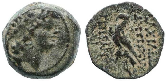 Ancient Coins - Seleucid Kingdom Antiochus VIII - Eagle