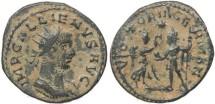 Ancient Coins - Roman coin of Gallienus antoninianus - VICTORIA GERMAN