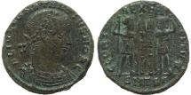 Ancient Coins - Roman coin of Constantius II - GLORIA EXERCITVS - Thessalonica