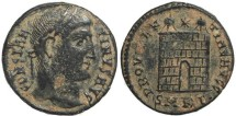 Ancient Coins - Roman coin of Constantine I - PROVIDENTIAE AVGG - Cyzicus Mint