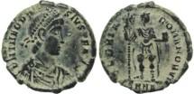 Ancient Coins - Ancient Roman coin of Theodosius I - GLORIA ROMANORVM - Nicomedia