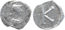 Ancient Coins - Anonymous Issue - Time of Justinian I - AR siliqua - budget example
