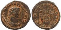 Ancient Coins - Roman coin of Probus - CLEMENTIA TEMP - Cyzicus