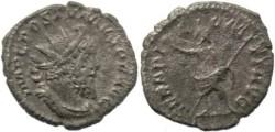 Ancient Coins - Postumus AR antoninianus - SERAPI COMITI AVG, Serapis standing