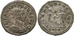 Ancient Coins - Probus Antoninianus, 276 AD, Cyzicus Mint