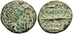 Ancient Coins - Seleucid Kings Antiochus I 280 - 261 BC AE Denomination B
