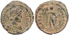 Ancient Coins - Roman coin of Theodosius I - GLORIA ROMANORVM - Antioch