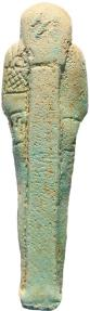 Ancient Coins - Super Ancient Egyptian Faience Ushabti - Late Period 27th Dynasty - Perfect condition