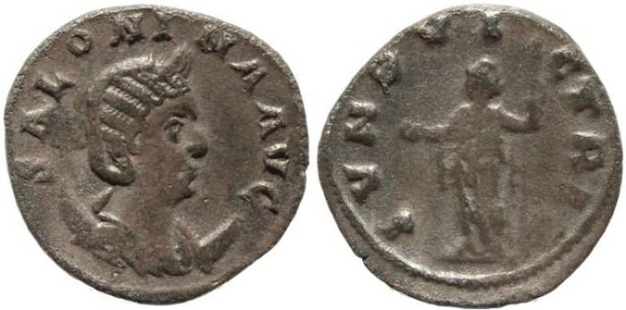 Ancient Coins - Roman coin of Salonina - IVNO VICTRIX