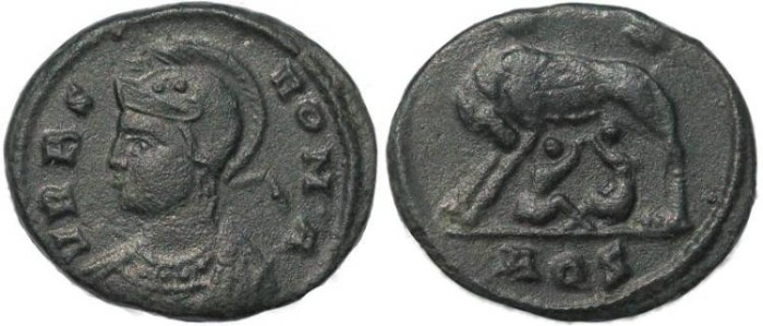 Ancient Coins - Urbs Roma Commemorative issue - Aquileia