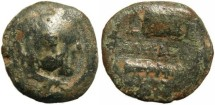 Ancient Coins - Alexander III of Macedon 336-323 BC - countermarked?