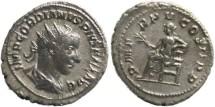 Ancient Coins - Gordian III 238-244AD Antoninianus - Apollo seated