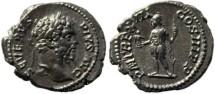 Ancient Coins - Septimius Severus silver denarius 193-211AD - Roma