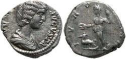 Ancient Coins - Julia Domna 193-211AD denarius