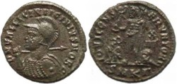 Ancient Coins - Licinius II AE follis - Cyzicus