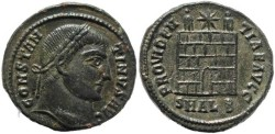 Ancient Coins - Constantine I - PROVIDENTIAE AVGG - Alexandria