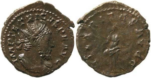 Ancient Coins - Tetricus I Antoninianus - HILARITAS AVGG