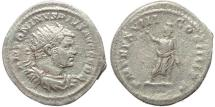 Ancient Coins - Roman coin of Caracalla AR silver antoninianus -  PM TR P XVIII COS IIII PP