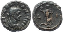 Ancient Coins - Diocletian Potin Tetradrachm minted in Alexandria, Egypt - Year 10