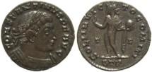 Ancient Coins - Ancient Roman coin Constantine I - SOLI INVICTO COMITI - Treveri Mint