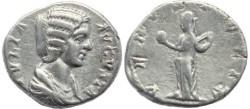Ancient Coins - Julia Domna AR silver denarius - VENVS FELIX