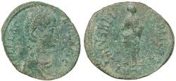 Ancient Coins - Roman coin of Aelia Flaccilla Ae2 - SALVS REIPVBLICAE - Antioch