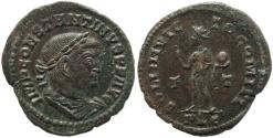 Ancient Coins - Roman coin of Constantine I - SOLI INVICTO COMITI - Lugdunum