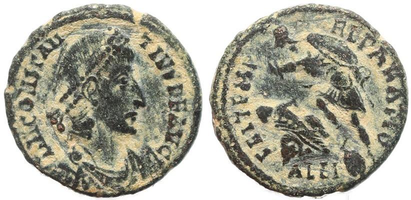 Ancient Coins - Roman coin of Constantius II - FEL TEMP REPARATIO - Alexandria
