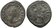Ancient Coins - Salonina silver antoninianus - CONCORDIA AVGG