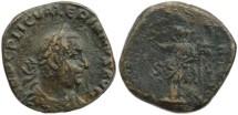 Ancient Coins - Valerian I AE sestertius - VICTORIA AVGG SC