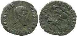 Ancient Coins - Roman coin of Constantius Gallus - FEL TEMP REPARATIO -  Heraclea