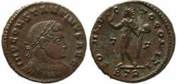 Ancient Coins - Roman coin of Constantine I - SOLI INVICTO COMITI - Treveri