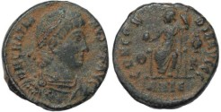 Ancient Coins - Gratian - CONCORDIA AVGGG - Antioch