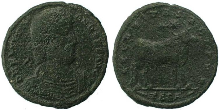 Ancient Coins - Julian II AD 360-363 AE 27mm Mint of Thessalonica