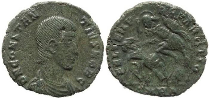 Ancient Coins - Roman coin of Constantius Gallus - FEL TEMP REPARATIO -  Heraclea