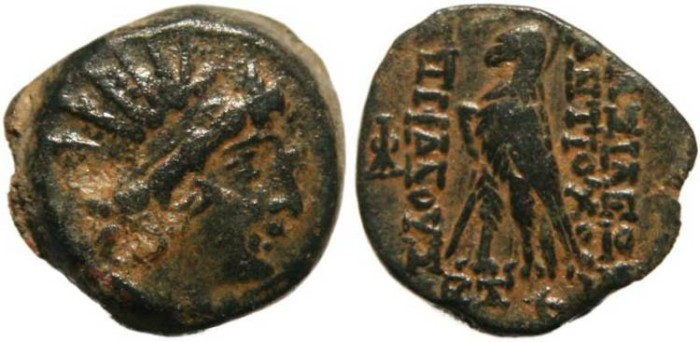 Ancient Coins - Seleucid Kingdom Antiochus VIII Grypos 121-96 BC- A very nice example!