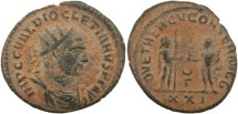Ancient Coins - Diocletian 284-305AD IOV ET HERCV CONSER AVGG - Antioch Mint