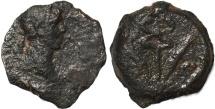 Ancient Coins - Roman coin of Trajan AE Dichalkon of Alexandria, Egypt