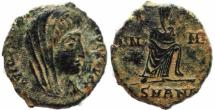 Ancient Coins - Posthumous struck roman coin of Constantine I The Great - Antioch Mint