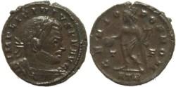 Ancient Coins - Ancient Roman coin of Licinius I - GENIO POP ROM - Treveri Mint