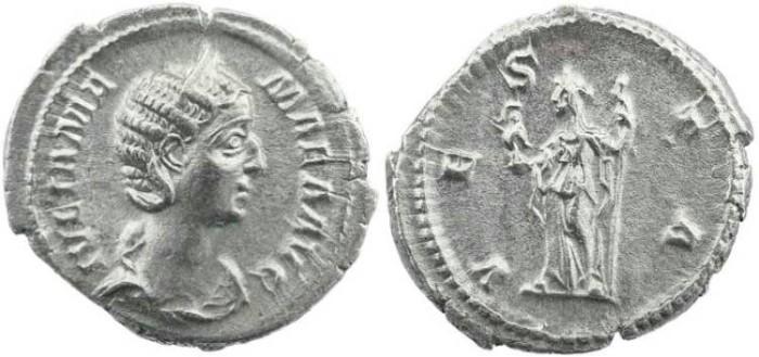 Ancient Coins - Roman Empire -  Julia Mamaea: Mother of Severus Alexander