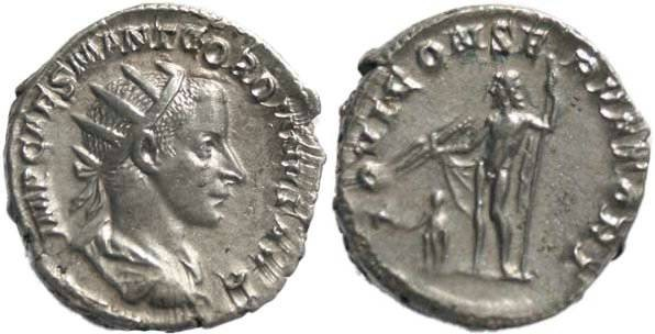 Ancient Coins - Gordian III 238-244AD Antoninianus - Jupiter