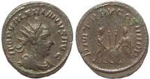 Ancient Coins - Roman coin of Valerian - antoninianus - P M TR P V COS IIII P P - Scarce